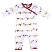 Sooki Baby Bunting Romper Sooki Baby bunting crossover romperThis fun comfortable Bunting romper will have your little girl standing out in a crowd From Sooki Babys pretty new collection it features a darling all over bunting and birdie print Faux . Please Click the image for more information.