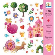 Djeco Princess Stickers SOLD OUT What little child doesnt love stickers This Djeco sticker set includes 160 pretty princess themed stickers. Please Click the image for more information.