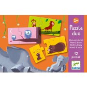 Djeco Mum and Baby Puzzle  SOLD OUT A fun educational puzzle for little ones of animal mums and their babies Match the baby animals to their mothers to complete the puzzles C. Please Click the image for more information.