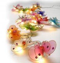 Whimsy Butterfly Fairy Lights The Fairy lights are warm LED  providing a beautiful warmtone light and consuming very little power making them a great sustainable decoration and giftPick. Please Click the image for more information.