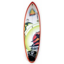 """Little buddha 6'3"""" DESCRIPTIONOur modern fun board Slight tail rocker and tail outline has been pulled in and rounded Co. Please Click the image for more information."""