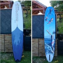 Bobby Long Board DESCRIPTIONThis is our super long board designed by Kane Tankard aust long board champ  it has a big single concave in the nose going in to double concave through the tail of the board med. Please Click the image for more information.