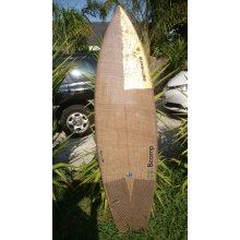 ECO V-BOMB ECO VBOMBThis is a Modern short board it has vee from the front foot right through to the tail  Med to high performance fun board slight diamond tail  Thruster fin set up 6 ounce with 4 ounce glass on top with 4 ounce on the bottom fin tail patch on the bottom  gearbox fin plugs fins sold se. Please Click the image for more information.