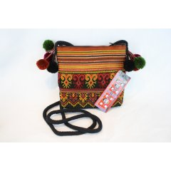 Hill Tribe Embroidered Passport Bag - Assorted colours and designs 16 cm x 14 cm Hill Tribe Embroidered Passport Bag  Assorted colours and designs These bags are made from beautifully embroidered Hill Tribe fabric decorated with whimsical pom poms Th. Please Click the image for more information.