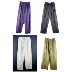 100% Stripe Cotton Indian Elastic Waist Pants-Hippy,Boho,Casual,Meditate,Yoga 100 Stripe Cotton Indian Elastic Waist Pants   6 Colours HippyBohoCasualMeditateYogaTraditional 100 Stripe Cotton Unisex Pants with Elastic WaistGreat quality and value elastic waist pants for men and womenStyle and. Please Click the image for more information.