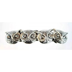Australian Made Hair Clip Owl - Wisdom,Benevolence,Intuition,Prophecy,Protection Australian Made Hair Clip Owl  WisdomBenevolenceIntuitionProphecyProtection Pewter Core with quality STG Silver Plating Finish This beautiful hair clip is functional durable and eye catching with a strong spring clip on the backSize  90 . Please Click the image for more information.
