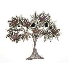 Australian Made Brooch Tree of Life Pewter Core with quality STG Silver Plating Finish This beautiful Brooch is functional durable and eye catching with a strong Brooch pin at the backMade. Please Click the image for more information.