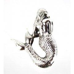 Australian Made Brooch Mermaid Pewter Core with quality STG Silver Plating Finish This beautiful Brooch is functional durable and eye catching with a strong Brooch pin at the backMade. Please Click the image for more information.