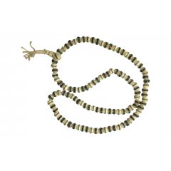 Mala Necklace White Bone w Inlay Meditation 108/10mm Prayer Beads Buddhism You are Buying1 x Mala Necklace with 108 White Bone Beads with Inlay and a Tassle Made in NepalMala beads are a set of beads traditionally used in prayer and meditationOften . Please Click the image for more information.