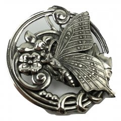 Australian Made Pewter STG Silver Plated Butterfly Brooch   Pewter Core with quality STG Silver Plating Finish This beautiful Brooch is functional durable and eye catching with a strong Brooch pin at the backSize. Please Click the image for more information.