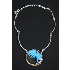 Australian Made Recycled Butterfly Wing Pendants - Ulysses Butterfly Wing Pendants set in Pewter are designed using real Butterfly Wings which are harvested from non threatened species from around the world T. Please Click the image for more information.