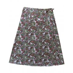 Medium Length Paisley 100% Cotton Wrap Skirt-One Size-5 Prints Vibrant quality 100 Cotton  wrap skirt with a yoke at the waist  double ties and a tie keeper These beautiful skirts are available in Assorted Colours Ple. Please Click the image for more information.