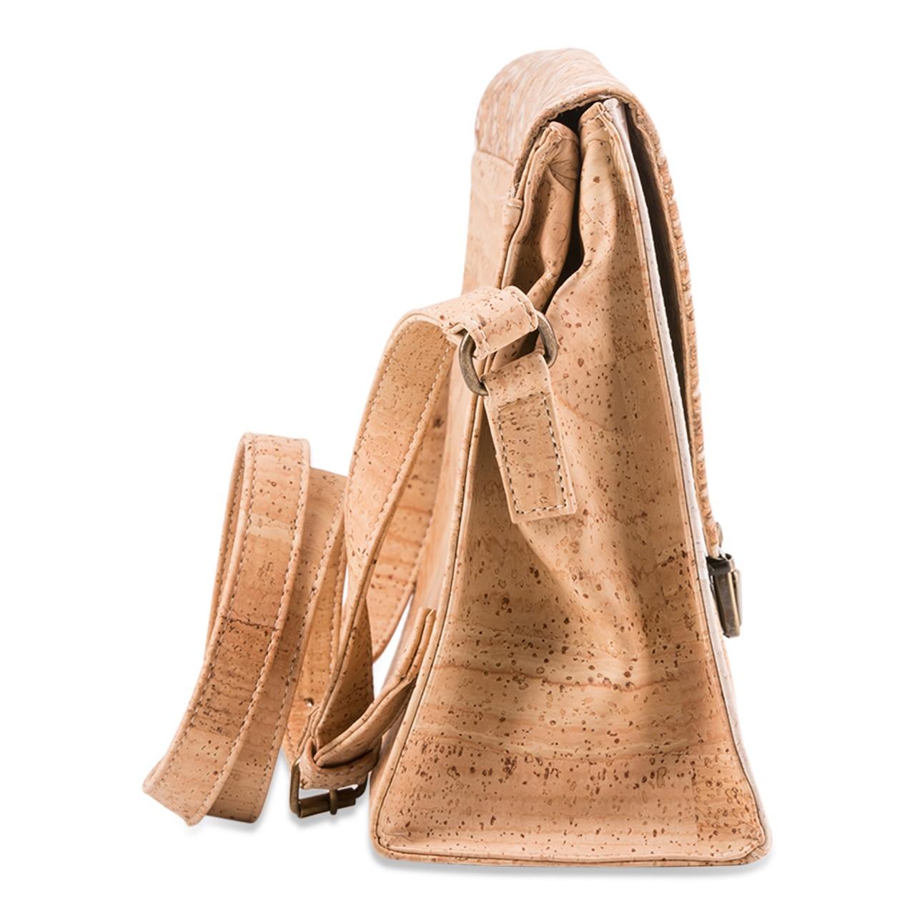 3e96563ba59 CORK TRICOLOR ENVELOPE SLING BAG (BEIGE/WHITE/FENNEL COPPER)