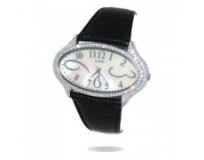 Oval Elegance WAS $199 NOW $80A super elegant piece with a glamorous mother of pearl face embossed Dali style stainless steel numerals 114 Swarovski crystals set around a stunning oval casing all set on a comfortable Python style Italian leather strapIt d. Please Click the image for more information.