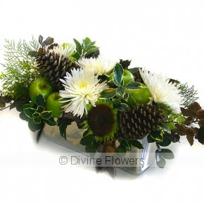 Product Image for Christmas Table Flowers In White