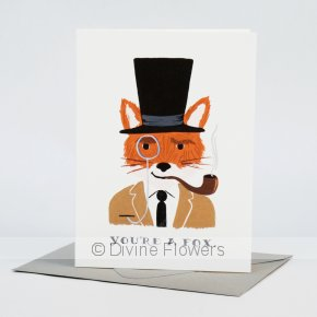 Product Image for Your A Fox Card