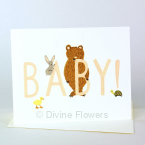Product Image for Baby Bear Card Girl