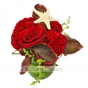 Product Image for Christmas Flower Bauble