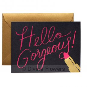 Product Image for Hello Gorgeous Card