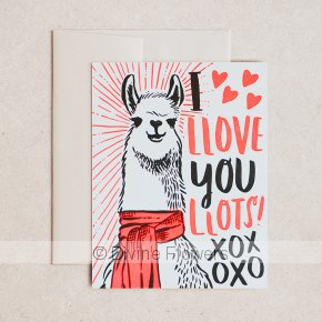 Product Image for I Love You Lots Llama Gift Card