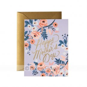 Product Image for Happy Mothers Day Card Blue