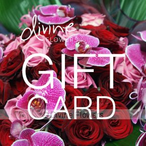 Product Image for Divine Flowers Gift Card