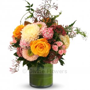 Product Image for Sympathy Peach Sorbet Vase