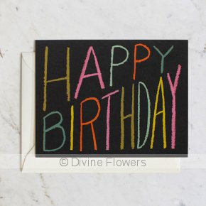 Product Image for Happy Birthday Crayons