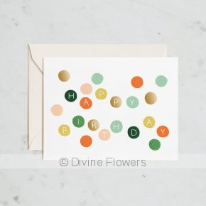 Product Image for Happy Birthday Dots
