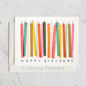 Product Image for Birthday Candles Greeting Card