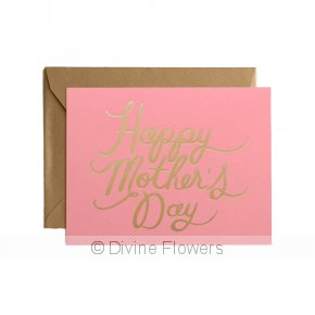 Product Image for Pretty In Pink Mother's Day Card