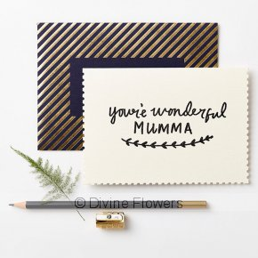 Product Image for You're Wonderful Mumma Card