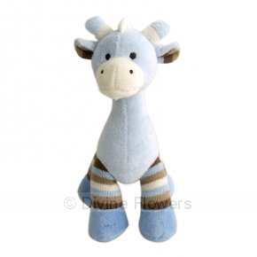 Product Image for Toy Giraffe in Blue